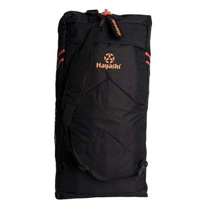 Sporttáska, Hayashi, kombi, fekete / narancs, nagy 67cm