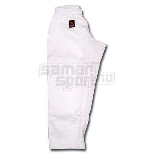 Karate nadrág, Saman, Hanami, gumis, fehér, 140 cm méret