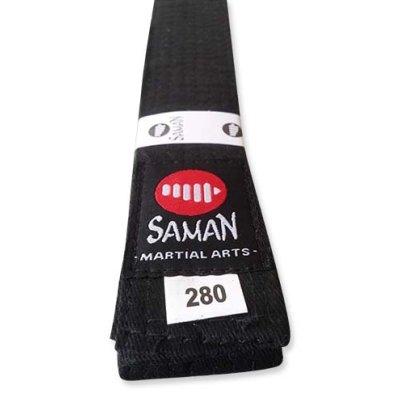 Öv, Saman, pamut, fekete, 240 méret