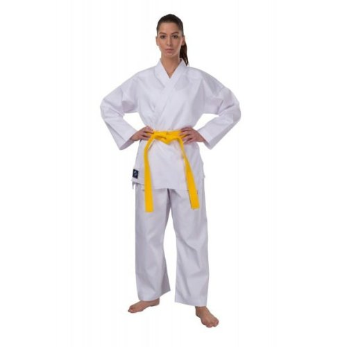 Karate ruha, Phoenix, Challenge, 7,5oz, pamut/poliészter, fehér, övvel