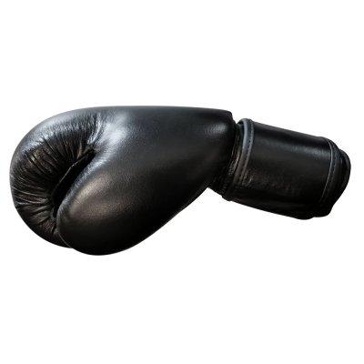 Boxkesztyű, Saman, Mex Glove, bőr, fekete