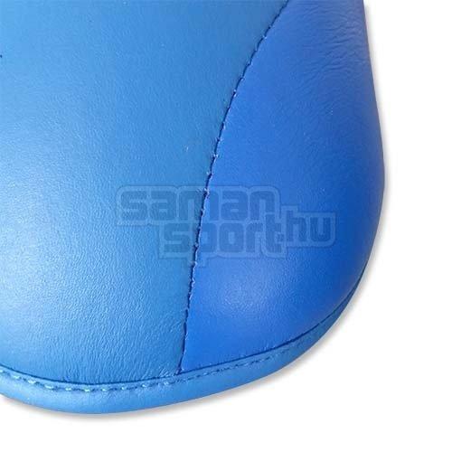 Lábfejvédő, Saman, karate, PU, kék, XL méret
