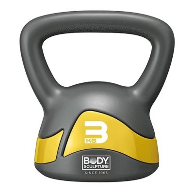 Kettlebell, 3 kg, Body Sculpture