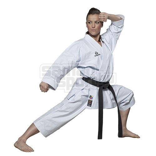 Karate ruha, Hayashi, WKF, Tenno Premium II, fehér, 160 cm méret