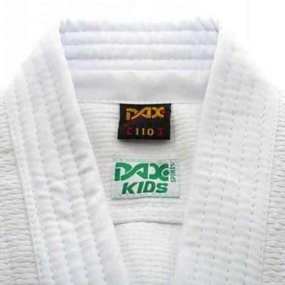 Judo ruha, DAX, Kids, 450g, fehér, 170 cm méret