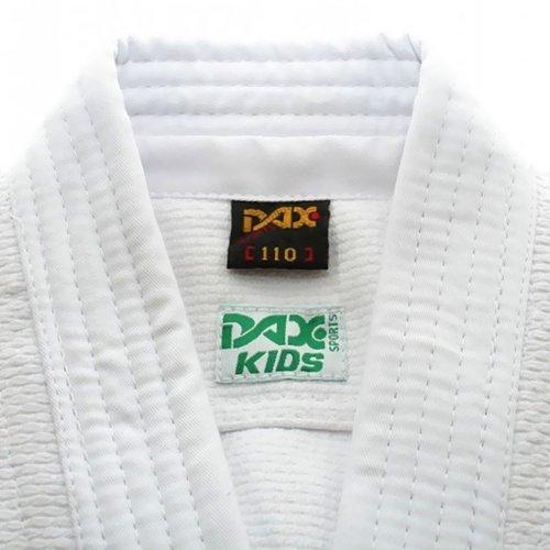 Judo ruha, DAX, Kids, 450g, fehér, 160 cm méret
