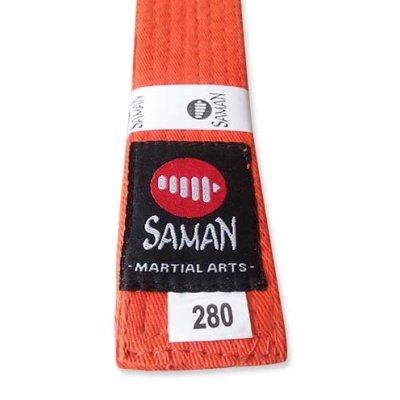 Öv, Saman, pamut, narancs, 320 méret